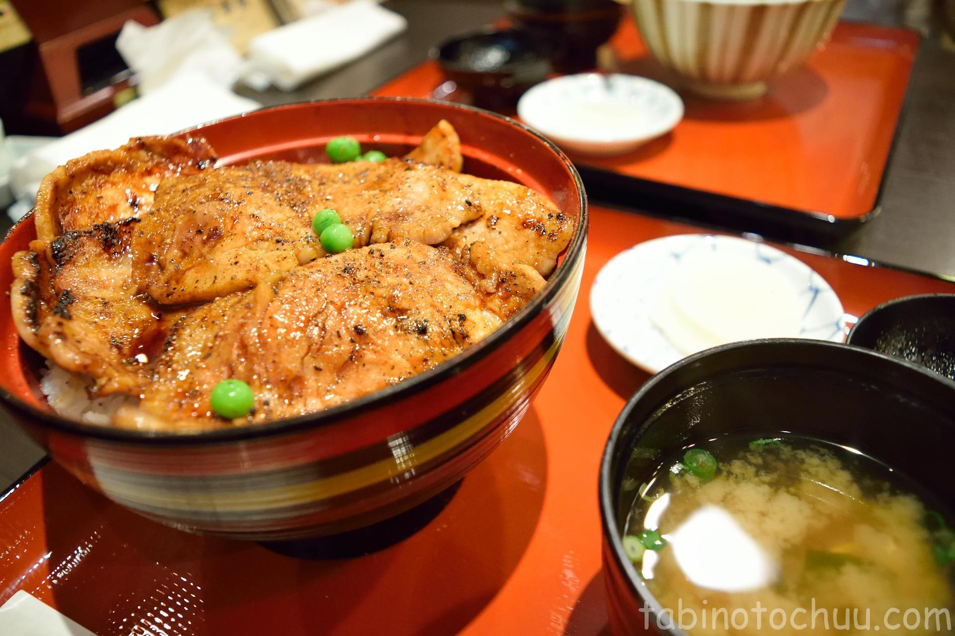 豚丼(はげ天)