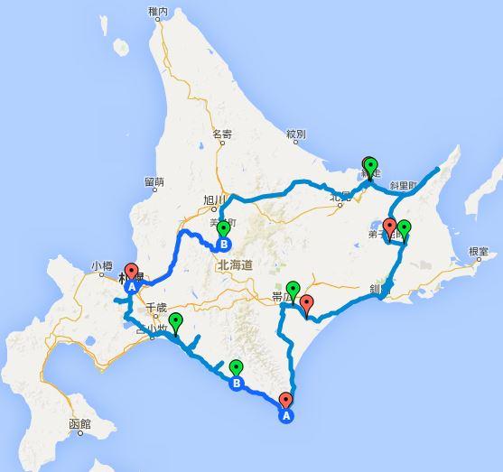 【札幌発】北海道の絶景観光スポットを巡る1週間の旅行onキャンプ泊「費用も全公開」概要