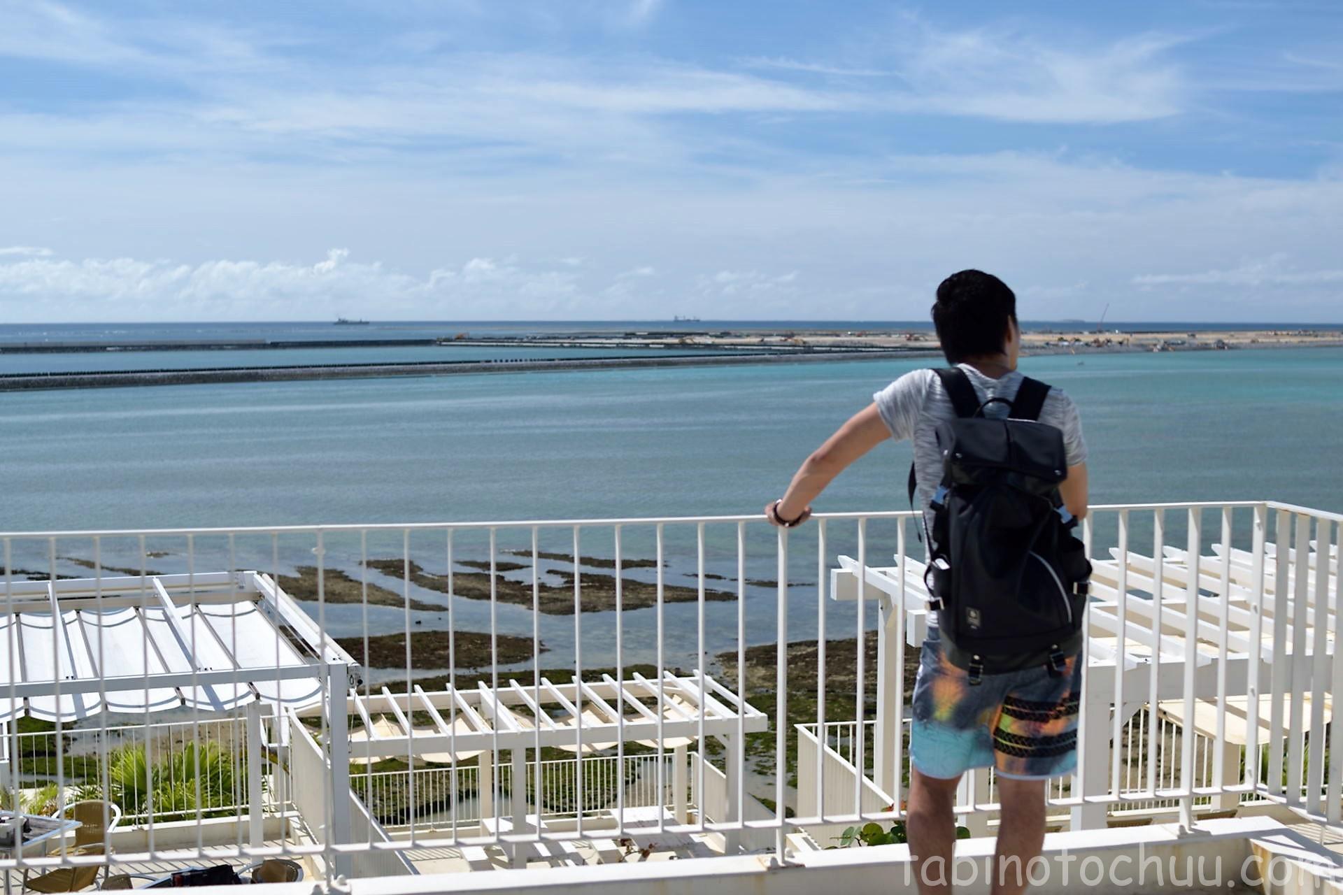 ウミカジテラスから海の眺め