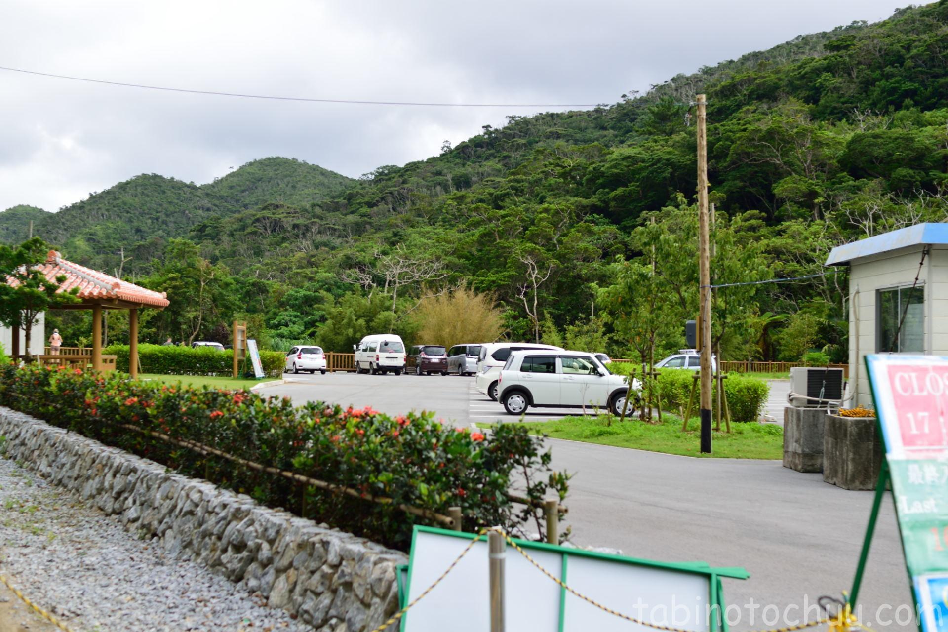 ター滝 駐車場