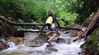 ター滝 リバートレッキング雰囲気