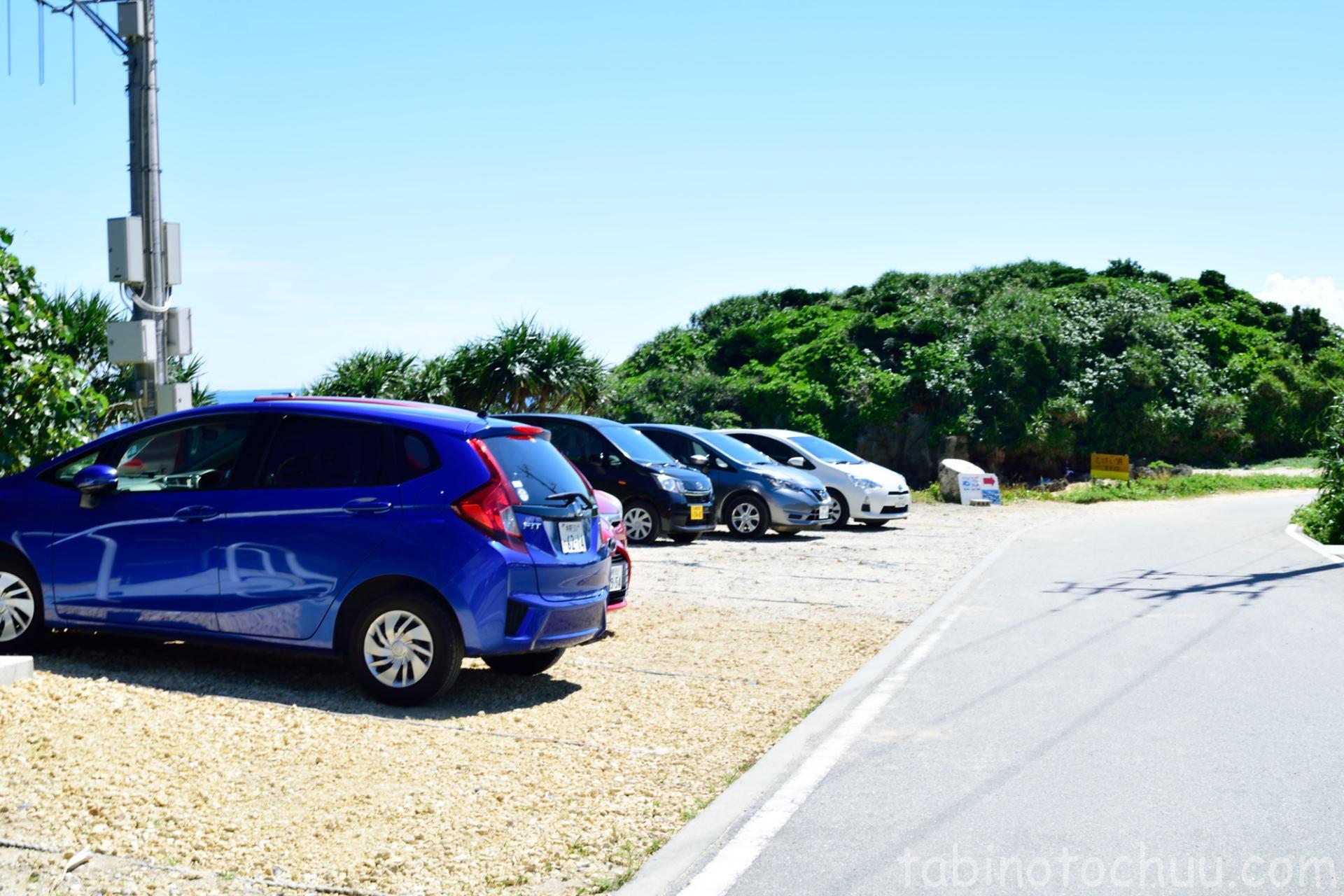 トケイ浜無料駐車場