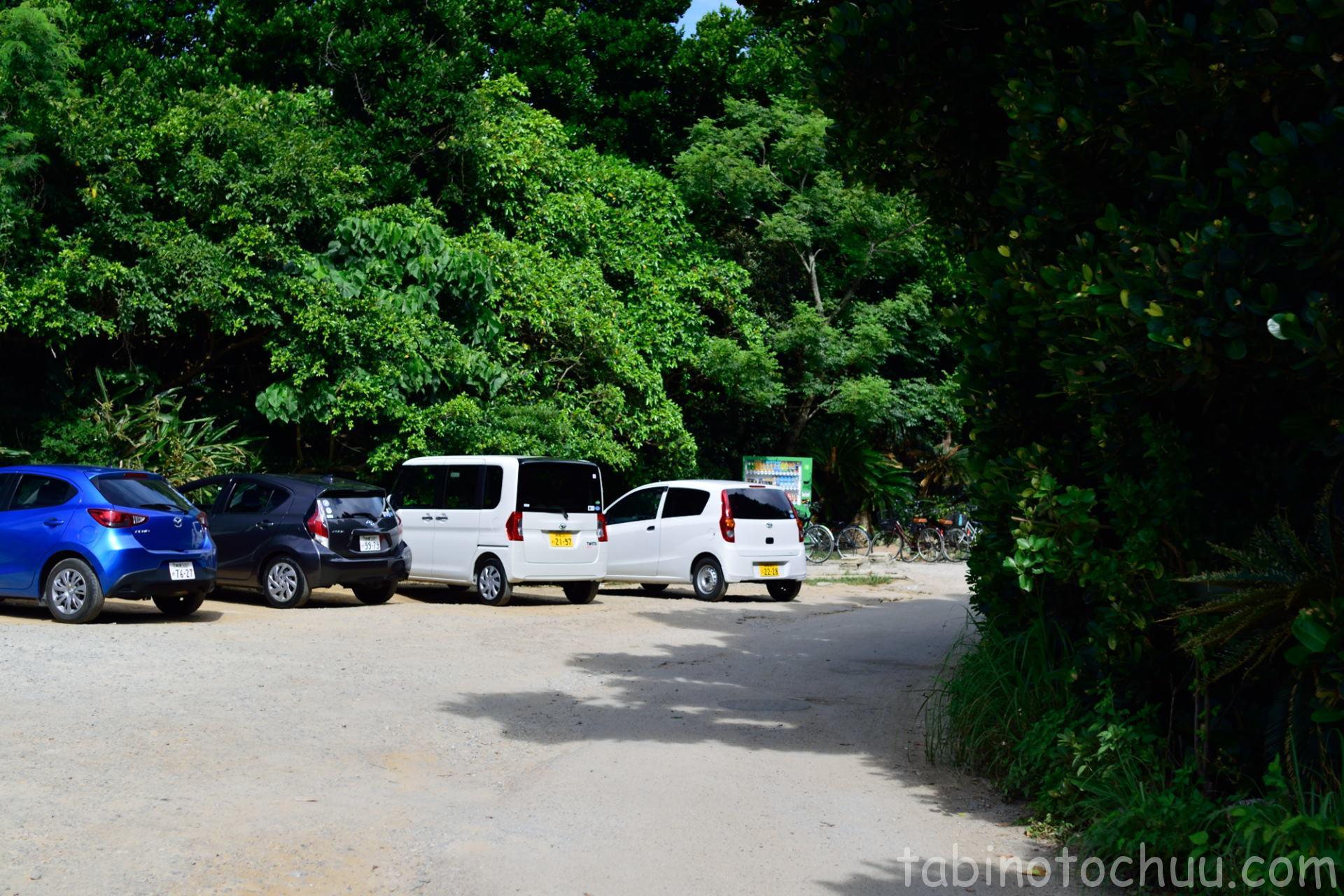 ワルミ 駐車スペース