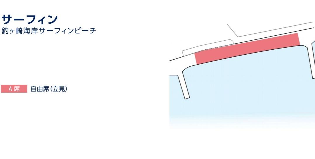 サーフィン座席